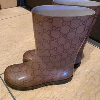 グッチ(Gucci)のグッチキッズレインシューズ(長靴/レインシューズ)