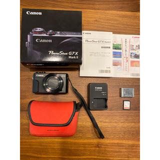キヤノン(Canon)のCanon g7x パワーショット マーク2  美品(コンパクトデジタルカメラ)