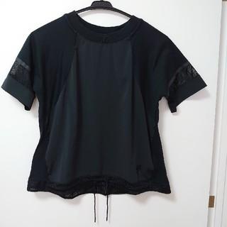 ナイキ(NIKE)のNIKE Tシャツ カットソー トップス ブラック(Tシャツ(半袖/袖なし))