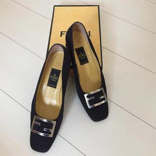 フェンディ(FENDI)のFENDI  ローファーパンプス(ローファー/革靴)