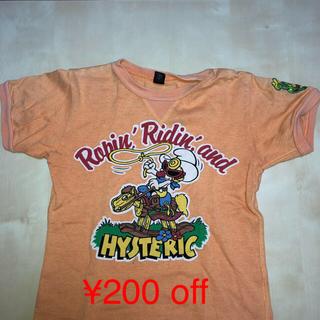 ヒステリックグラマー(HYSTERIC GLAMOUR)の【¥200 off】HYSTERIC GLAMOUR Tシャツ 100cm(Tシャツ/カットソー)