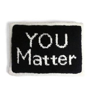 カシウエア(kashwere)の新品 カシウェア 「YOU Matter」枕 ピロー Kashwere(枕)