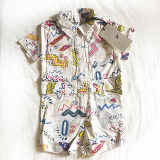 ステラマッカートニー(Stella McCartney)の新品タグ付★ステラマッカートニーロンパース★ベビー服(ロンパース)