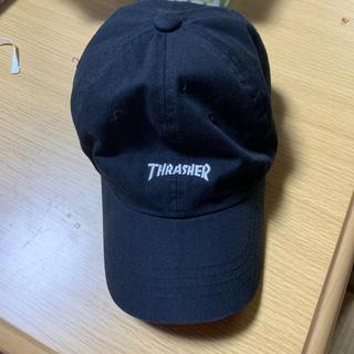 スラッシャー(THRASHER)のTHRASHER キャップ BLACK(キャップ)