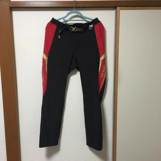 シマノ(SHIMANO)のシマノ パンツ PA-131PBレッド L(ウエア)
