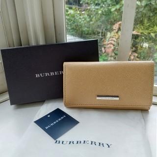バーバリー(BURBERRY)の【natsu様専用】BURBERRY //ベージュのキーケース(キーケース)
