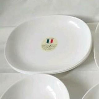 ヤマザキセイパン(山崎製パン)の白 皿 3枚(食器)