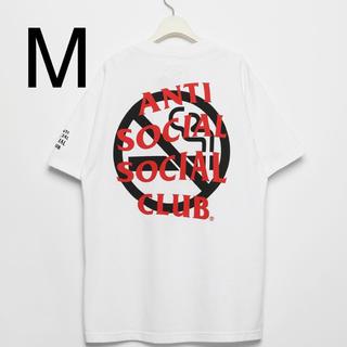アンチ(ANTI)のASSC×FR2 コラボTシャツ ホワイト M(Tシャツ/カットソー(半袖/袖なし))
