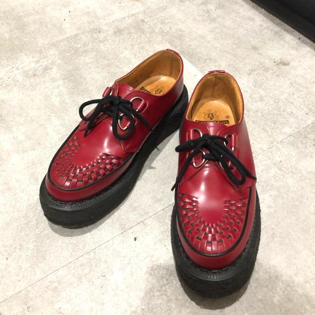GEORGE COX(ジョージコックス)のGEORGE COX ジョージコックス ギブソン レッド メンズの靴/シューズ(ブーツ)の商品写真