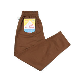 SHIPS - COOKMAN シェフパンツ「Chocolate」茶色 クックマン Lサイズ