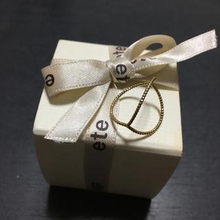 エテ(ete)のBLOOM☆ファランジリング☆ピンキーリング(リング(指輪))