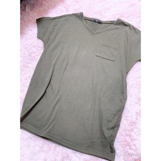 イング(INGNI)のロングTシャツ☆ポケット付き(Tシャツ/カットソー(半袖/袖なし))
