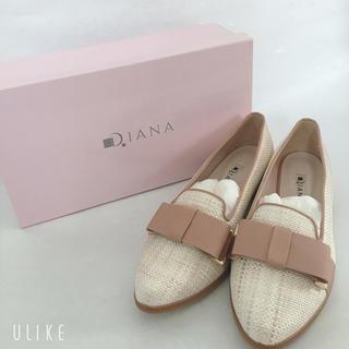 ダイアナ(DIANA)のダイアナ リボン付きローファー 【新品未使用】(ローファー/革靴)