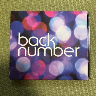 バックナンバー(BACK NUMBER)のback number シャンデリア 初回限定盤B(ポップス/ロック(邦楽))