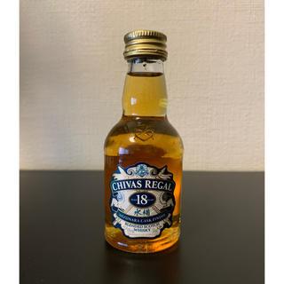 シーバスリーガル ミズナラ 18年 ミニボトル 50ml(ウイスキー)
