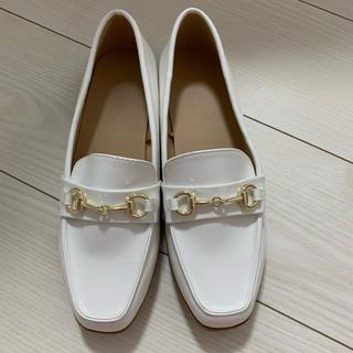 ジーユー(GU)のGU フラットシューズ 新品(ローファー/革靴)