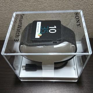 ソニー(SONY)のソニー スマートウォッチ3(腕時計(デジタル))