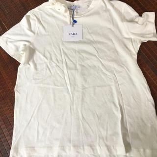ザラ(ZARA)のZARA 白Tシャツ(Tシャツ(半袖/袖なし))
