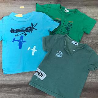 サンカンシオン(3can4on)の95サイズキッズ 夏用3枚セット(Tシャツ/カットソー)