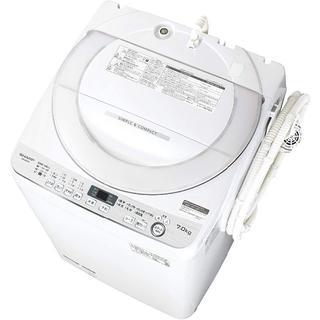 SHARP - 【設置・無料サービス】『洗濯機』設置・リサイクル回収、あり
