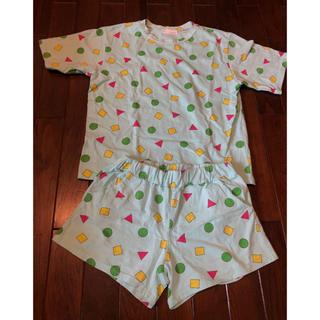 ディーホリック(dholic)のクレヨンしんちゃん パジャマ セットアップ 半袖 ショーパン(ルームウェア)