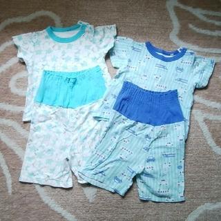 シマムラ(しまむら)の半袖パジャマ2枚セット、下着3枚セット(パジャマ)