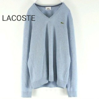 LACOSTE - 90s LACOSTE ラコステ セーター ロゴ
