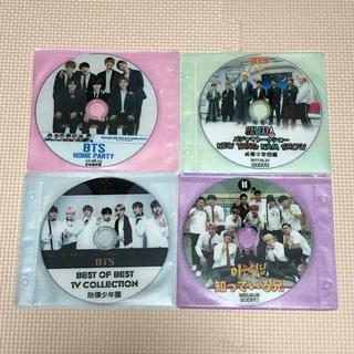 ボウダンショウネンダン(防弾少年団(BTS))のBTS DVD4枚セット(アイドル)