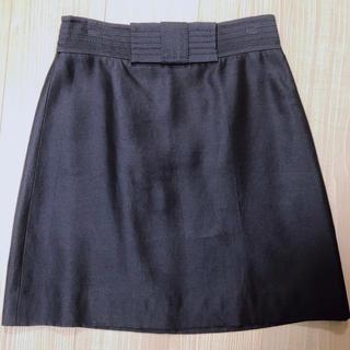 ケイトスペードニューヨーク(kate spade new york)のKate Spade ネイビー ウエストリボン スカート(ひざ丈スカート)
