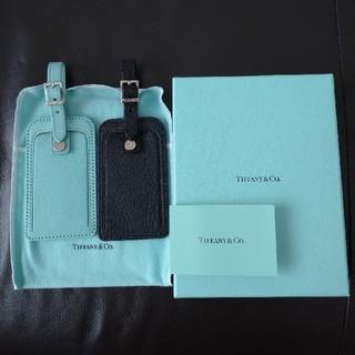 ティファニー(Tiffany & Co.)のご専用  新品  ティファニー  ネームタグ  ラゲージタグ(キーホルダー)
