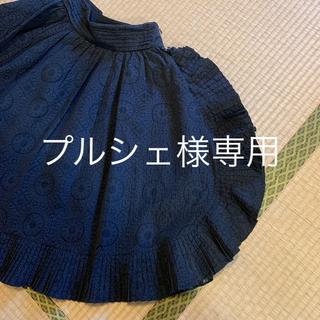 アルマーニ コレツィオーニ(ARMANI COLLEZIONI)のARMANIデザイン膝丈スカート 40 Lサイズ(ひざ丈スカート)