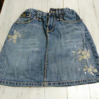 ギャップ(GAP)の子供服 デニムミニスカート(スカート)