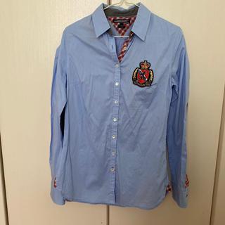 トミーヒルフィガー(TOMMY HILFIGER)のtommyシャツ サイズ2(ブラウス)