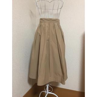 エージー(AG)の新品未使用 雨の日におすすめ!シワになりにくく水をはじきやすいスカート(ひざ丈スカート)