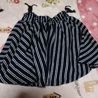 シマムラ(しまむら)のサイズ140スパッツ付きスカート(スカート)