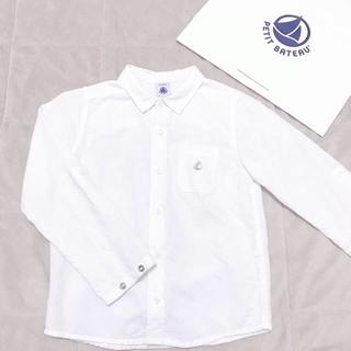 プチバトー(PETIT BATEAU)のプチバトー シャツ 110cm(ブラウス)