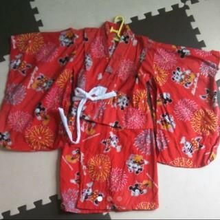 ディズニー(Disney)のディズニー浴衣 100(甚平/浴衣)