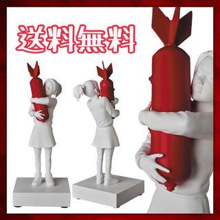 メディコムトイ(MEDICOM TOY)のBOMB HUGGER(RED BOMB Ver.)メディコムトイ バンクシー(彫刻/オブジェ)