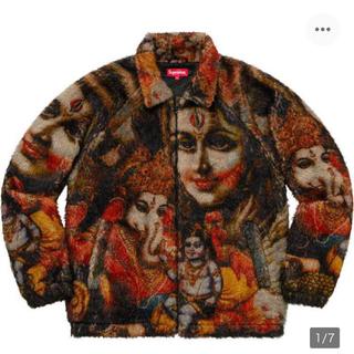 シュプリーム(Supreme)の19AW Supreme Ganesh Faux Fur Jacket M (ブルゾン)