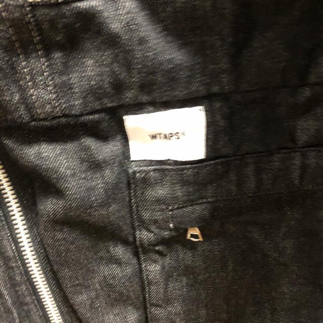 W)taps(ダブルタップス)の新品★WTAPS 19AWCRUSTJACKET. COTTON. DENIM メンズのジャケット/アウター(ブルゾン)の商品写真