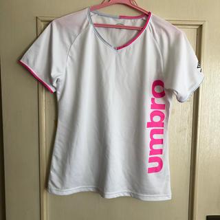 アンブロ(UMBRO)のレディース用 umbro スポーツウェア(Tシャツ(半袖/袖なし))