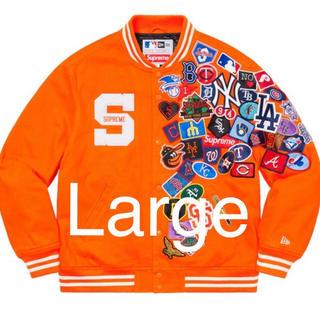 シュプリーム(Supreme)のLサイズ Supreme New Era MLB Varsity Jacket(スタジャン)