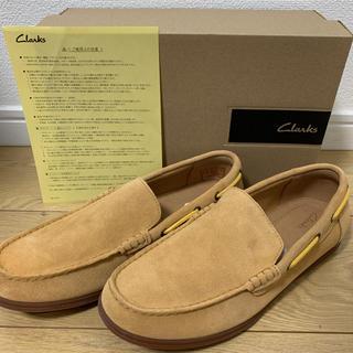 クラークス(Clarks)の【新品】【売り切り】clarks 25.5cm(スリッポン/モカシン)