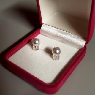 ミキモト(MIKIMOTO)の美しい 7ミリ あこや真珠ピアス アコヤ(ピアス)