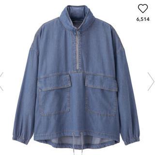 ジーユー(GU)のデニムアノラックジャケット GU(その他)