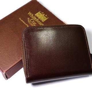 ホワイトハウスコックス(WHITEHOUSE COX)の【新品】ホワイトハウスコックス ブライドルレザー 折り財布 ハバナ(折り財布)