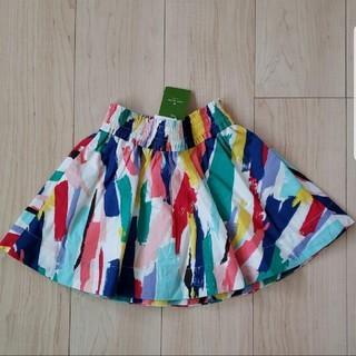 ケイトスペードニューヨーク(kate spade new york)の【新品】ケイト・スペード×スカート 4y 100cm 110cm(スカート)