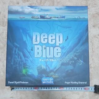 ホビージャパン(HobbyJAPAN)のDEEP BLUE ディープ・ブルー 日本語版 ボードゲーム 日本語版(その他)