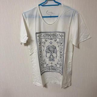 カスタムカルチャー(CUSTOM CULTURE)のカスタムカルチャー スカルTシャツ サイズ2(Tシャツ/カットソー(半袖/袖なし))