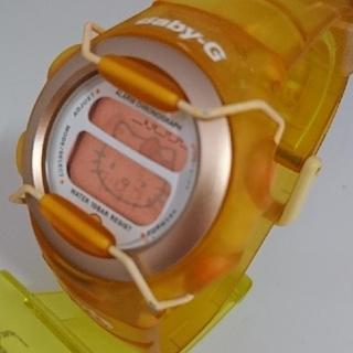 ベビージー(Baby-G)のさゆ様専用 Baby-G 380 ハローキティ オレンジ(腕時計)